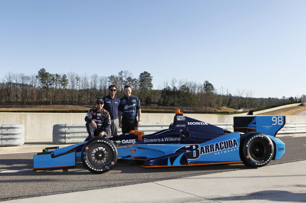 Details of no 98 Bryan Herta Autosport/Barracuda Racing IndyCar for the 2013 season