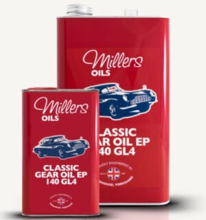 Millers Classic Mineral Gear Oil EP 140 GL4