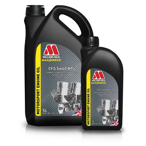 Millers CFS 5W40 NT compétition huile moteur