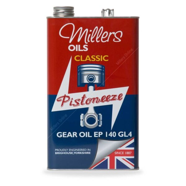 Millers Classique Huile Minérale Boite de Vitesse EP 140 GL4 5L