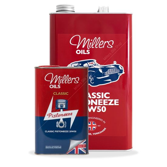 Millers Classic 20W50 Mineral Engine Oil
