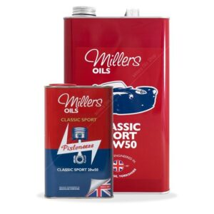 Millers Classic Sport 20W50 Semi Synthetic Engine Oil