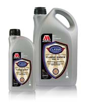 Millers Classic Shock Oil 32 Medium Duty for either top-up or full fluid replacement in shock absorbers or motorcycle forks.