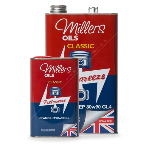 Millers Classic Mineral Gear Oil EP 80W90 GL4
