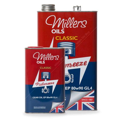 Millers Huile Classique Boite de Vitesses EP 80W90 GL4