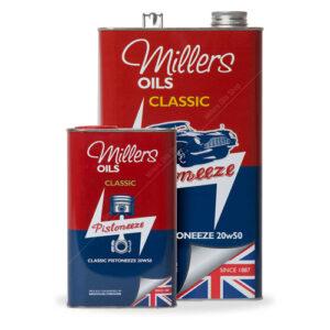 Millers Classique 20W50 Minérale Huile Moteur