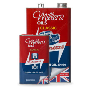 Millers Classic Mini 20W50 Mineral Engine Oil