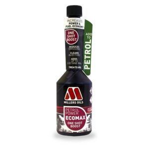 Millers Petrol Power ECOMAX One-Shot Boost petrol additive