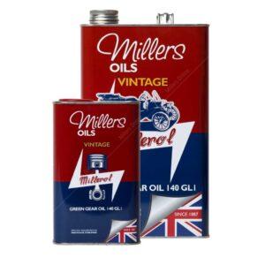 Millers Classic Green Gear Mineral Oil 140 GL1