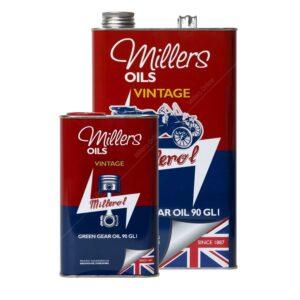 Millers Classique Huile Verte Minérale Boite de Vitesse 90 GL1