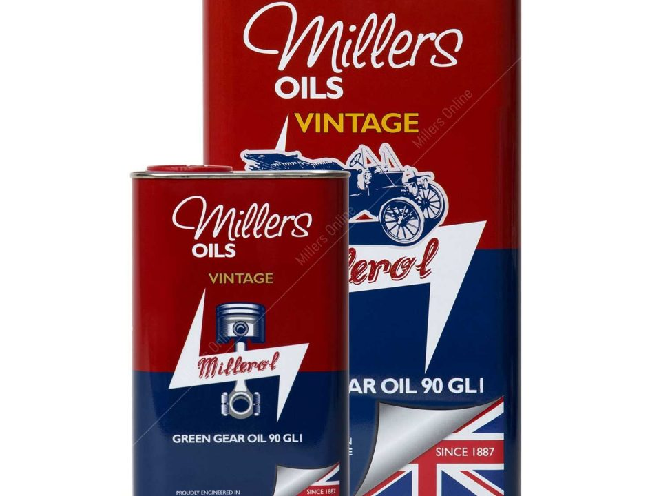 Millers Classic Green Gear Mineral Oil 90 GL1
