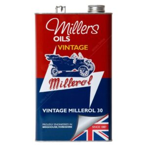 Millers Classic Millerol M30 monograde oil without detergents
