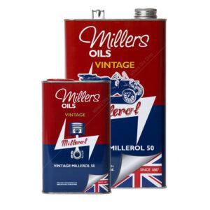 Millers Classic Millerol M50 huile sans détergents