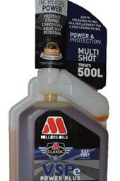 Millers VSPe Power Plus multi-shot additif carburant