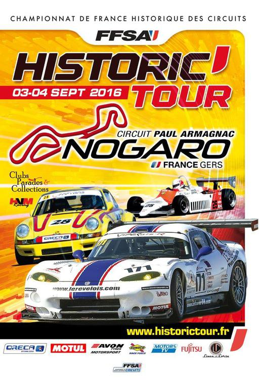 2016 Historic Tour F3 Classique Pilotes Sponsoring