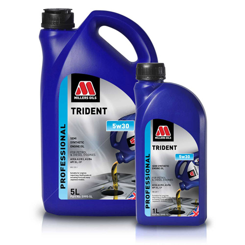 Millers Trident 5W30 Semi Synthetic Engine Oil