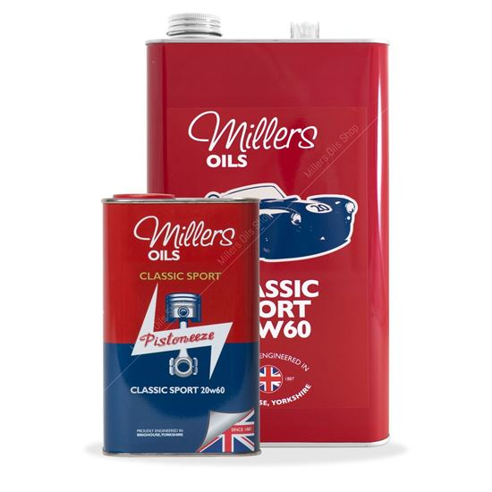 Millers Classic Sport 20W60 Semi Synthetic Engine Oil