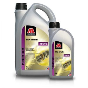 Millers TRX Synth 75w90 Fully Synthetic Gear Oil GL4 and GL5