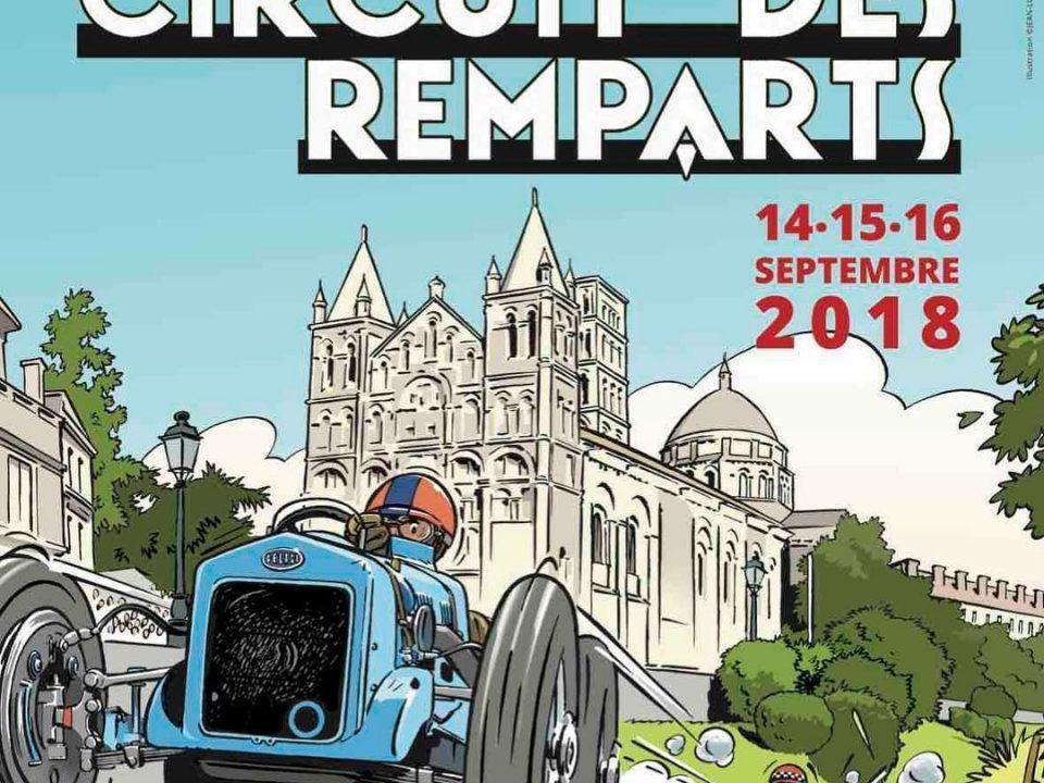 Circuit des Remparts, Angouleme, septembre 2018