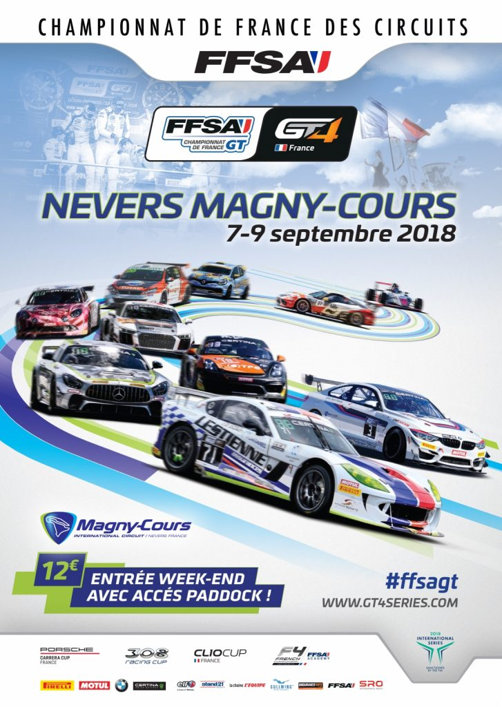 FFSA GT4 Nevers Magny Cours, Sept 2018