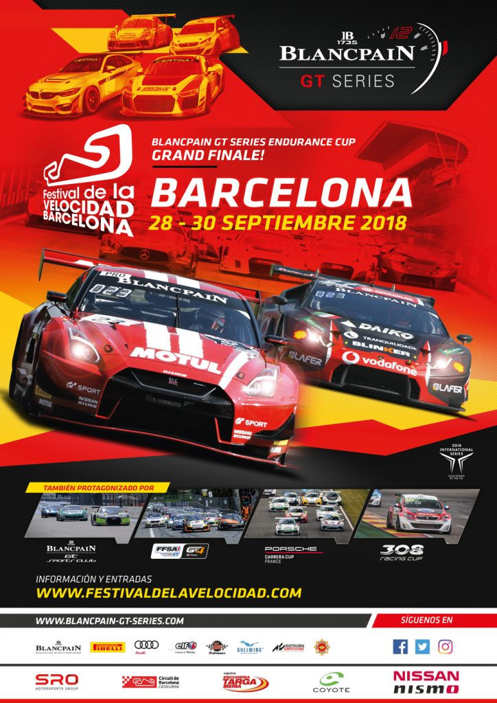 FFSA GT4 Barcelona September 2018