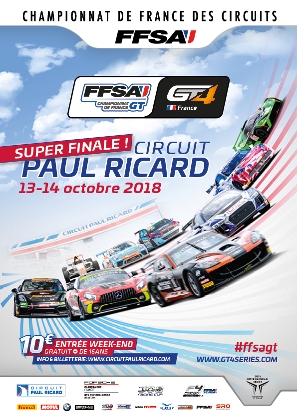 FFSA GT4 Paul Ricard octobre 2018