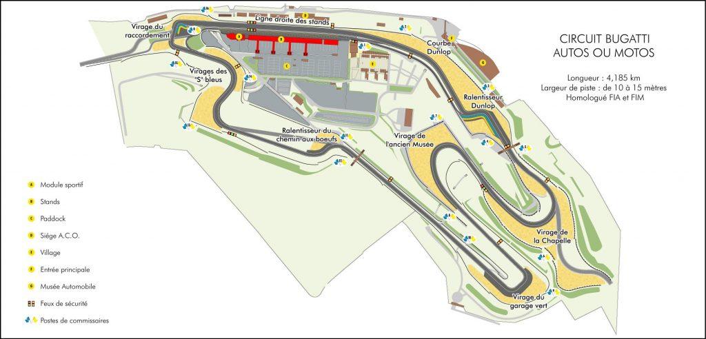 TTE Le Mans Bugatti Novembre 2018