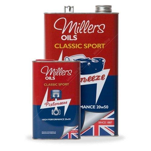 Millers Classique Sport Haute Performance 20W50 huile moteur synthétique