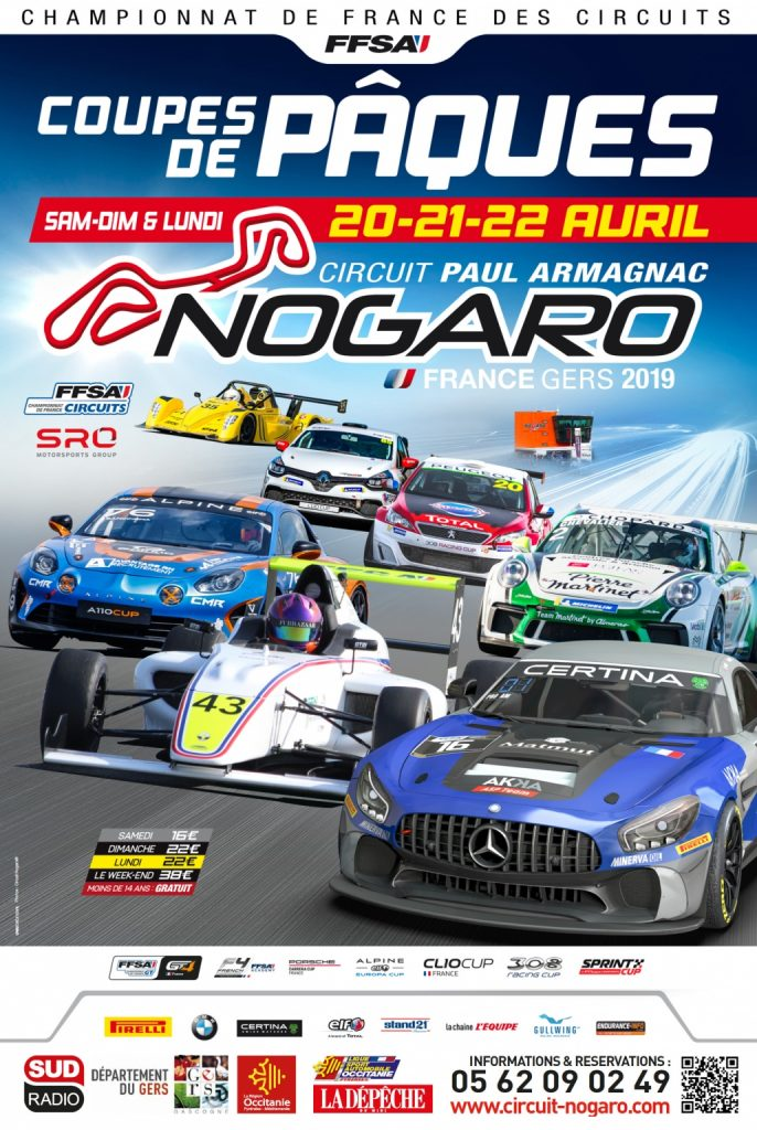 FFSA GT4 Series Nogaro April 2019