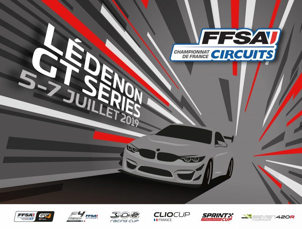 FFSA GT4 Ledenon July 2019