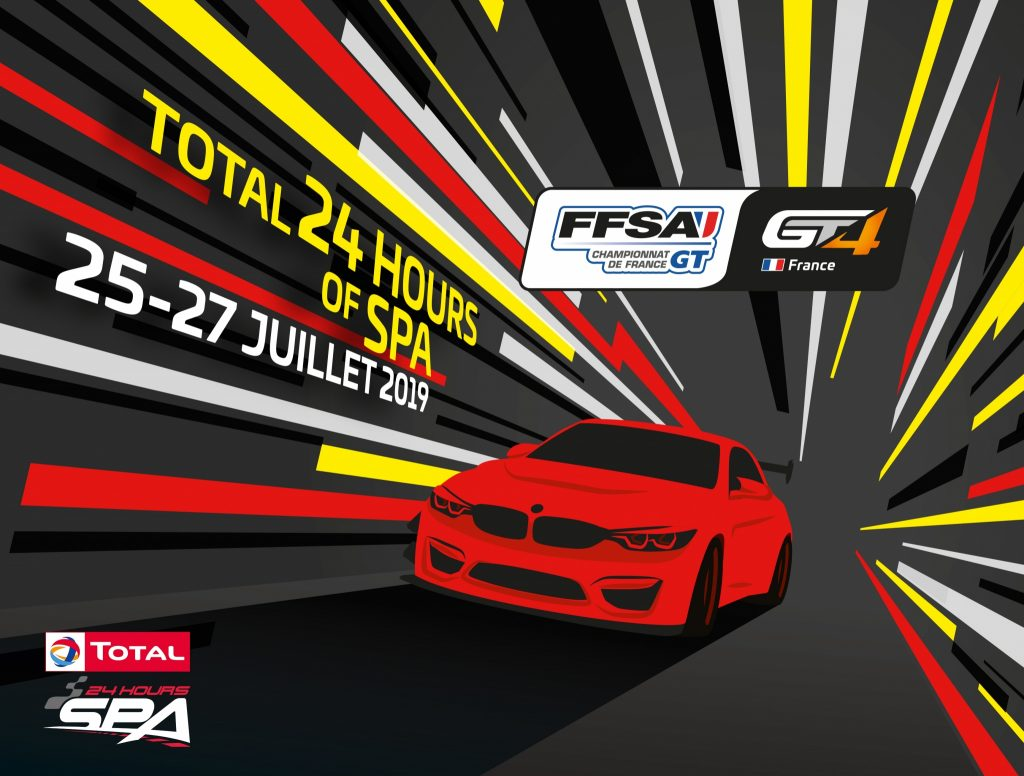 FFSA GT4 Series Spa Francorchamps July 2019