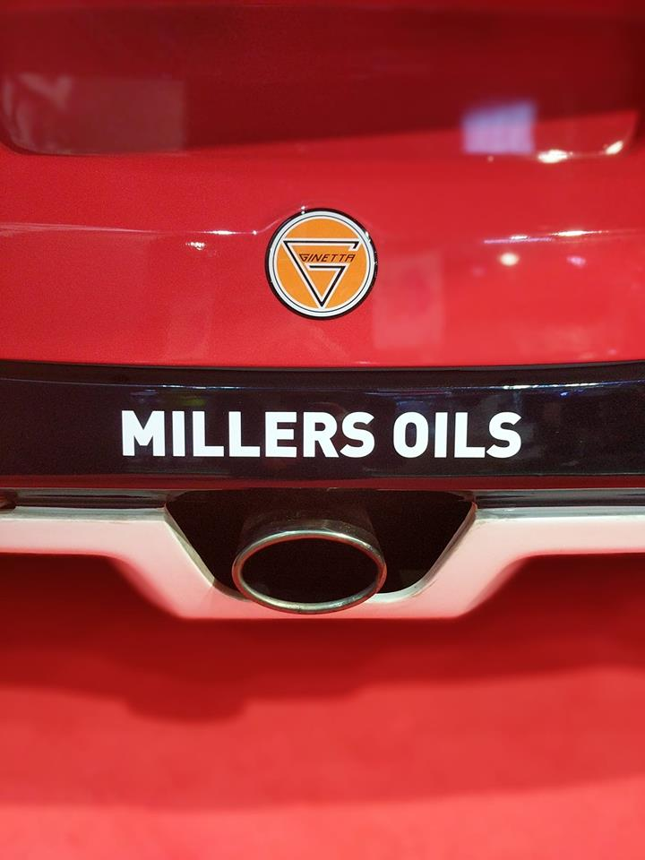 Millers Oils and Ginetta