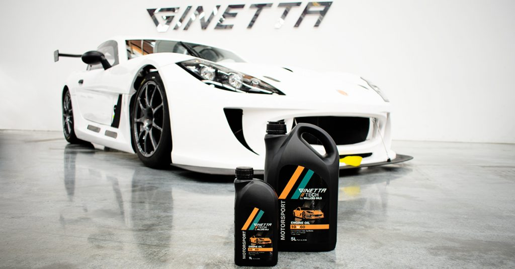 Millers Oils and Ginetta Announce Technical Partnership